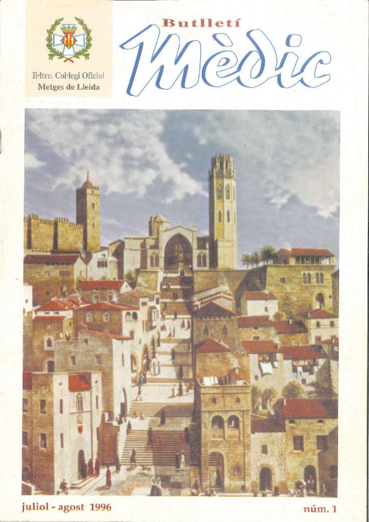 Butlletí Mèdic Núm. 1 – Juliol // Agost 1996