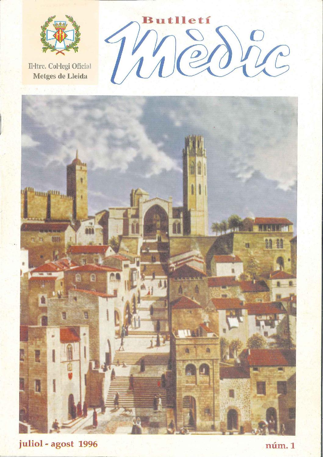 Butlletí Mèdic Núm. 1 - Juliol // Agost 1996