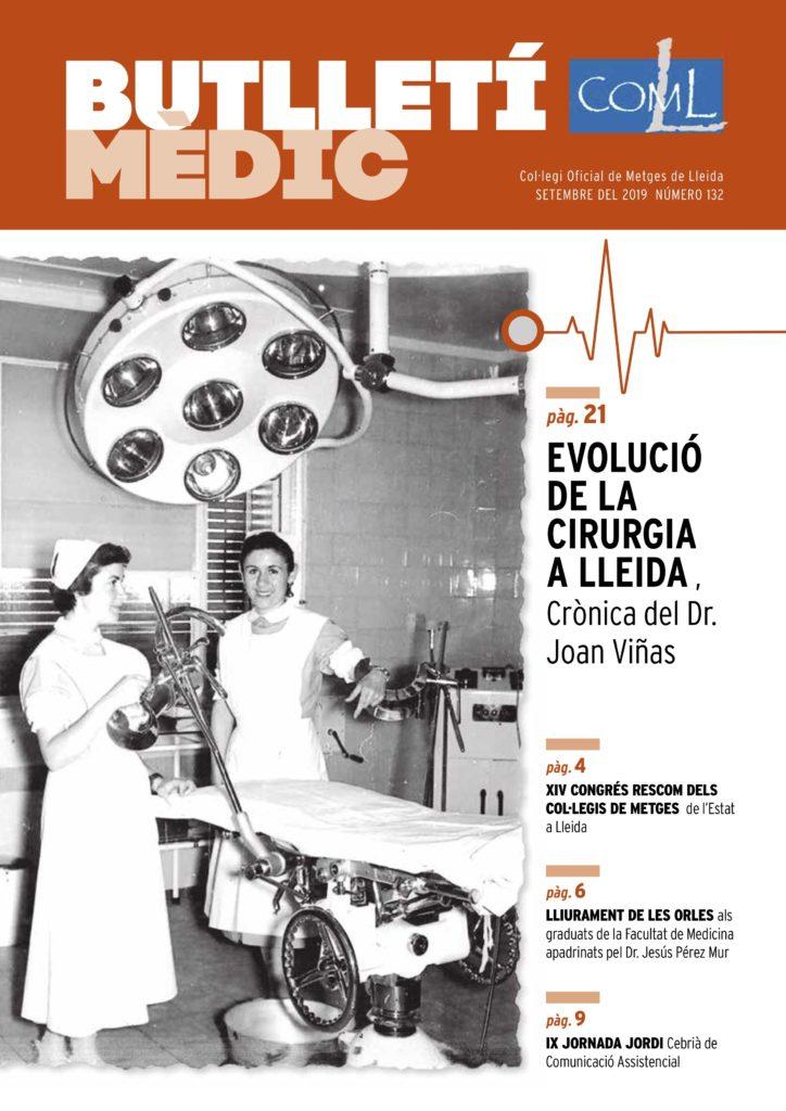Butlletí Mèdic 132 – setembre 2019