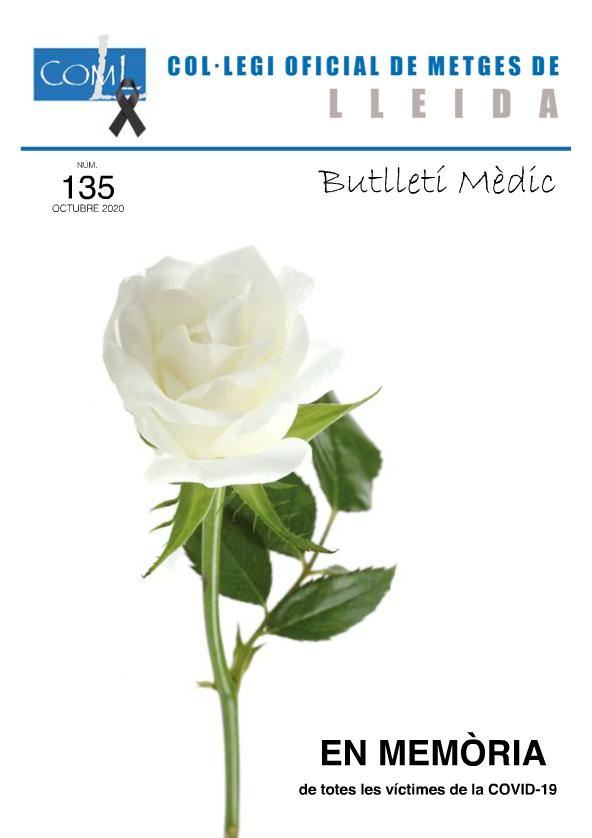 Butlletí Mèdic 135 – octubre 2020