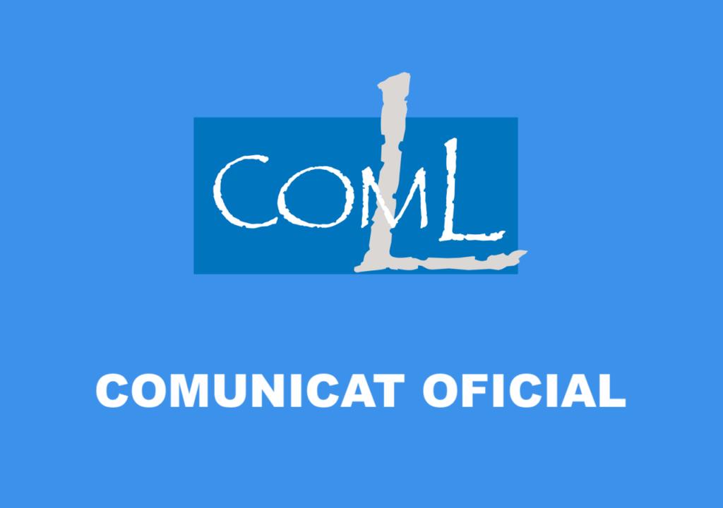 COMUNICAT OFICIAL